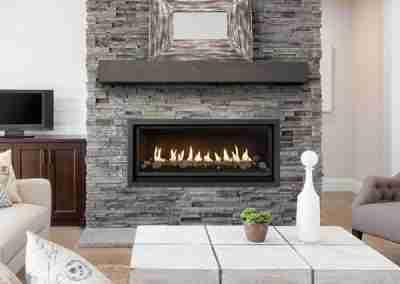 Linear Gas Fireplace 42 Probuilder